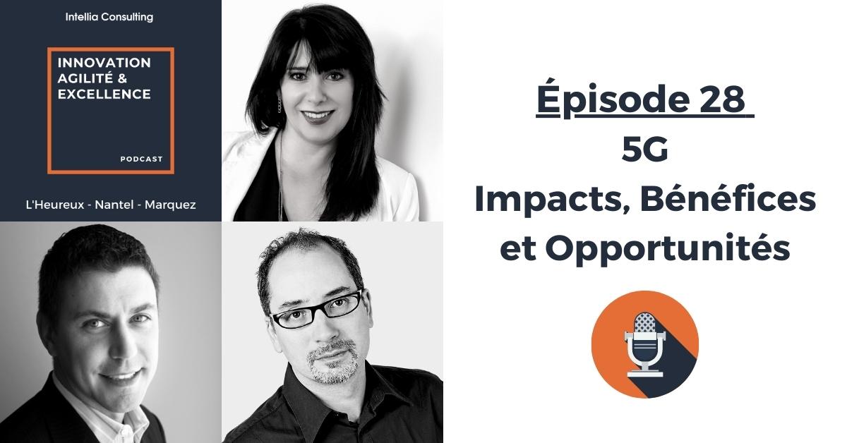 5G - Impacts, bénéfices et opportunités